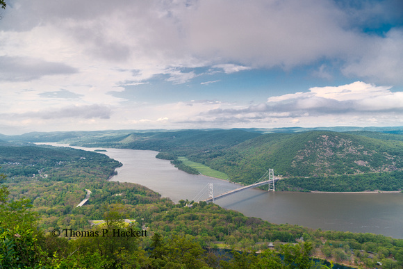 Hudson River from Bear Mountain